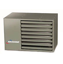 modine low profile stainless steel power vented